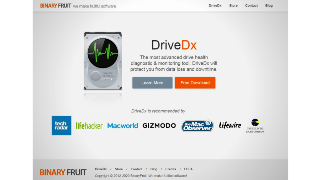 3rd party tool on mac, DriveDx