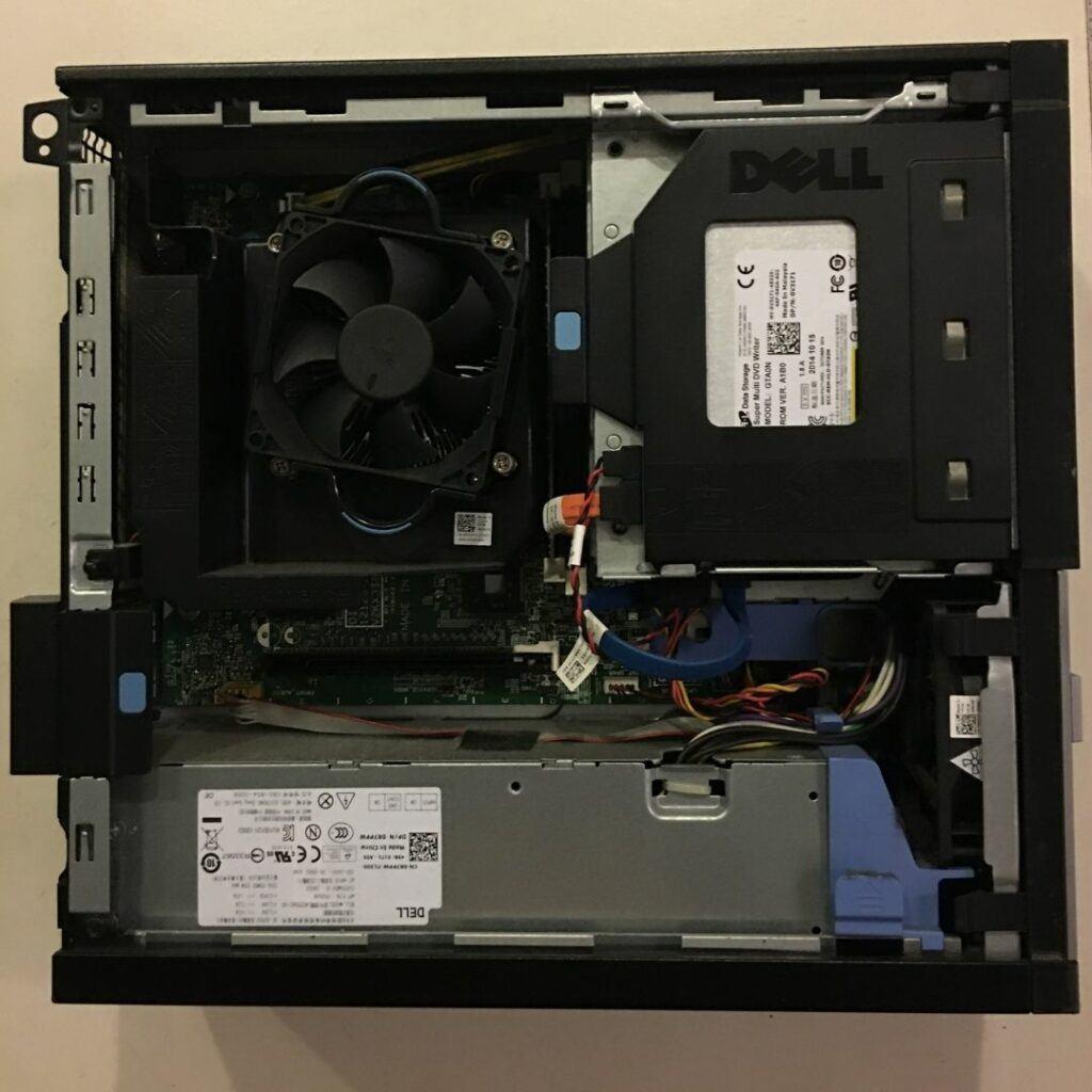 """Install 2.5"""" SATA SSD in Dell OptiPlex Desktop"""